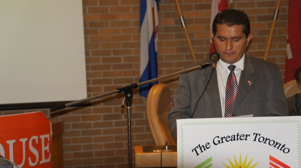 Sharif Behruz's Remarks: Terrorism of the Islamic Republic of Iran, the 22nd Anniversary of Dr. Ghassemlou's Terror, July 17, 2011 Toronto