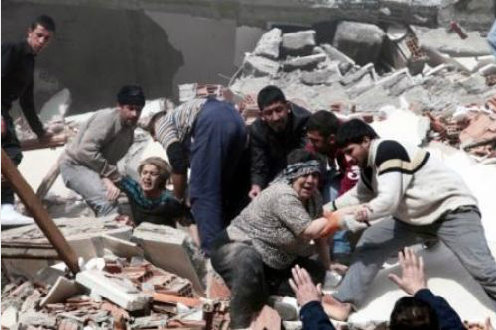 PDKI's message of solidarity and sympathy on the tragic earthquake in Van