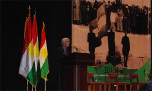 The 66th Anniversary of Kurdistan Republic of 1946 is celebrated in Erbil with opening remarks by President Barzani