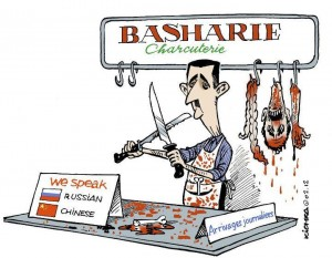 Bashar Asad's Slaughter House – Spoken Languages: Chines & Russian