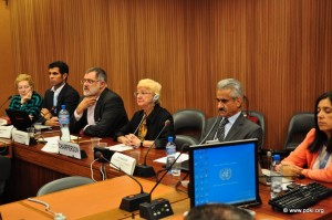 Conference on human rights and power-sharing among Iran's nationalities at UN in Geneva