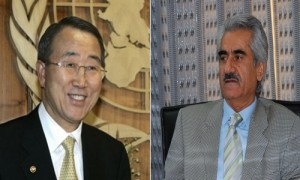 PDKI General Secretary Mustafa Hijri's letter to the United Nations Secretary General Mr. Ban Ki-moon