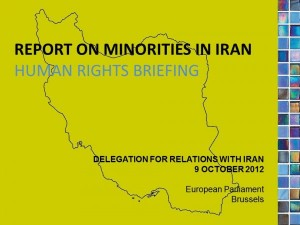 UNPO General Secretary Briefs Delegation for Relations with Iran on Minority Rights
