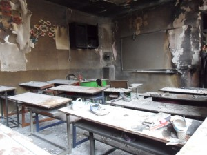 A blaze in a Kurdish school in Iran injures dozens