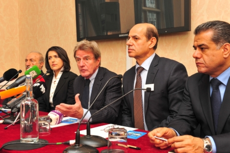 Former French Foreign Minister Dr Bernard Kouchner supports campaign for recognition of Kurdish genocide in Iraq