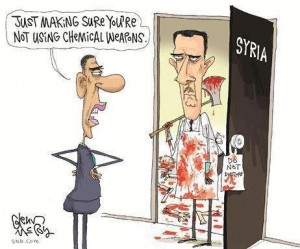 #Obama to #Assad: Just making sure you are not using chemical weapons