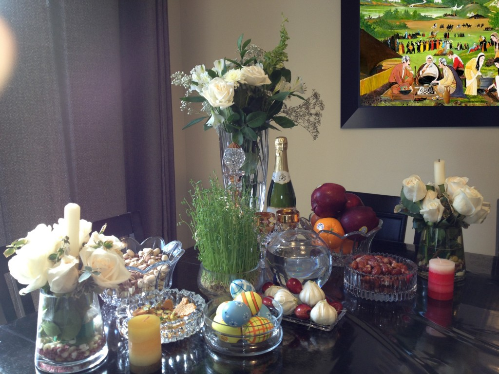 Photo: 2013 Newroz Table at our house