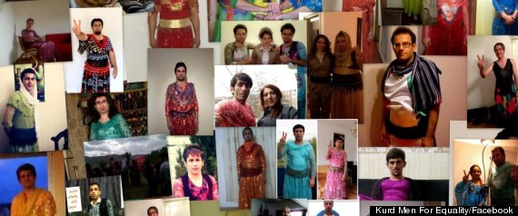 Cross-dressing Kurds in Iran to support women's rights