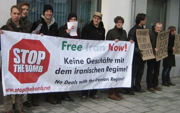 Main suspect in assassination of Iranian Kurdish leadership in Vienna visiting Europe, STOP THE BOMB demands arrest of Sahraroudi