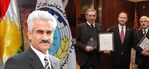 Mustafa Hijri commended the work of FBA to award Mykonos prosecutors