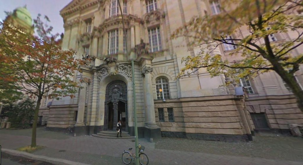 A street view of Berlin's highest criminal court at Turmstraße 91 where the historic Mykonos Verdict was delivered in April 10, 1997.  Google Maps